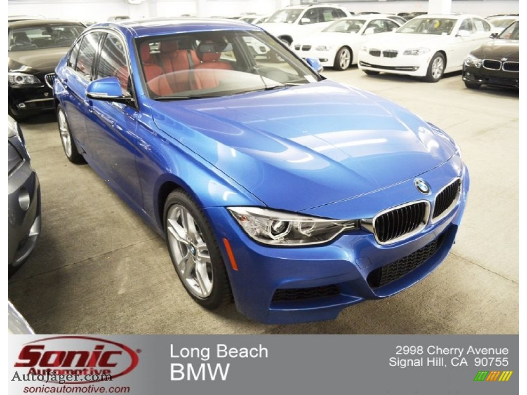 2013 Bmw 3 Series 328i Sedan In Estoril Blue 435000