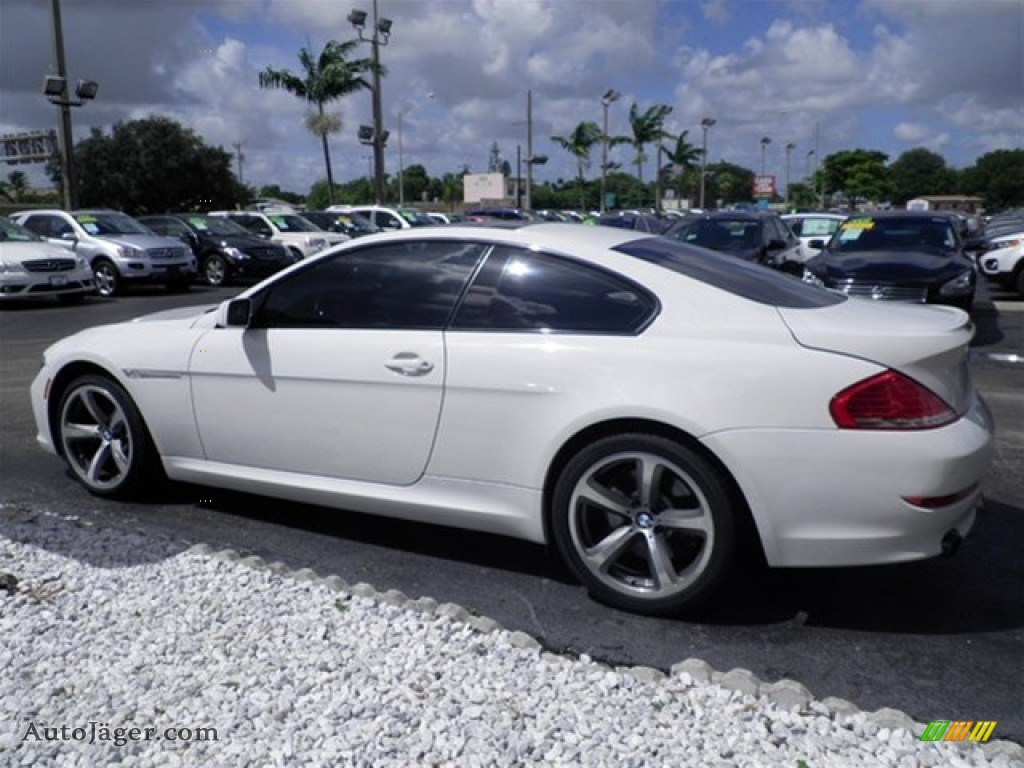 2009 bmw 6 series 650i coupe in alpine white photo 13. Black Bedroom Furniture Sets. Home Design Ideas