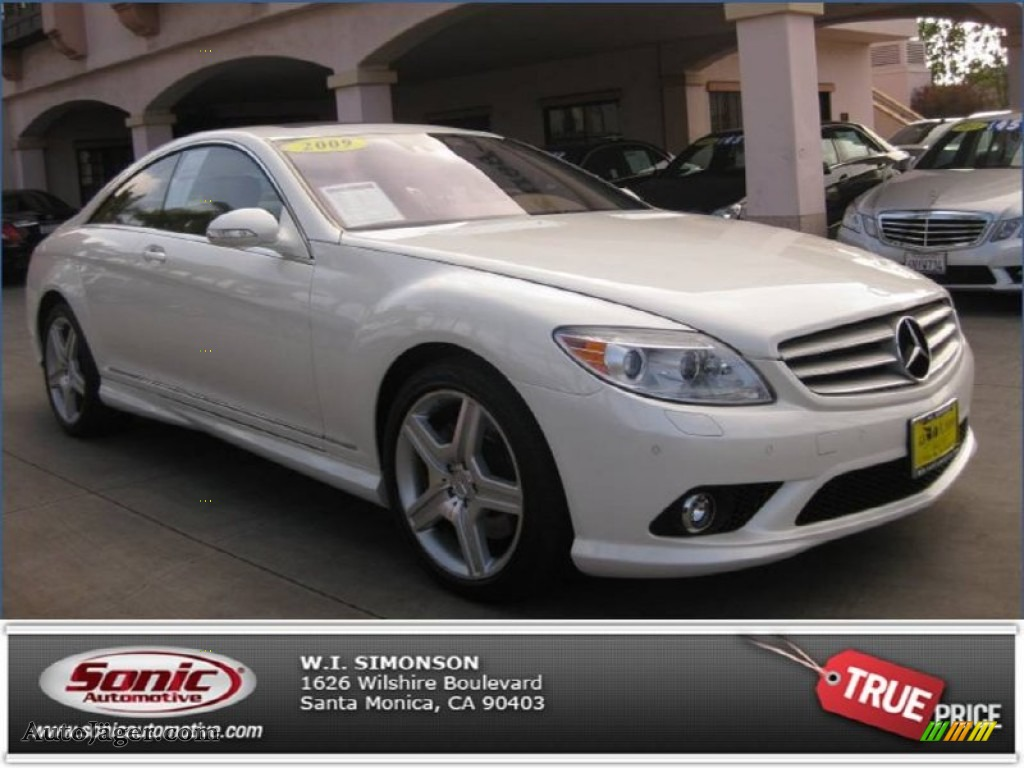 2009 mercedes benz cl 550 4matic in diamond white metallic for Simonson mercedes benz