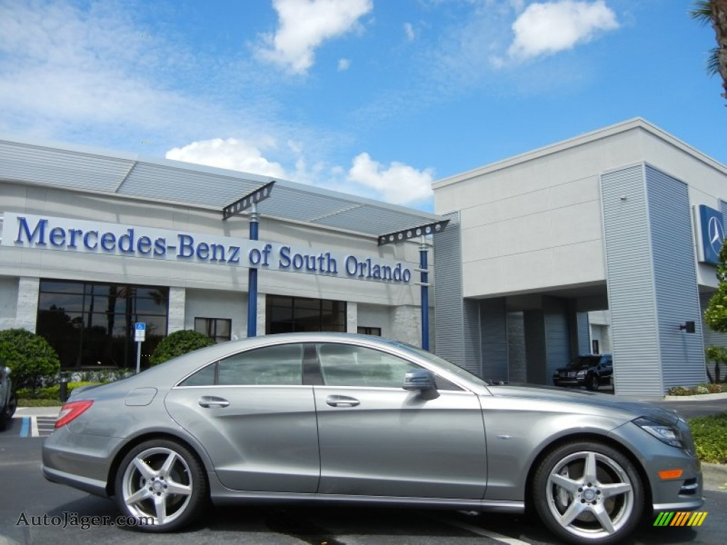 2012 mercedes benz cls 550 coupe in palladium silver for Mercedes benz cls sale