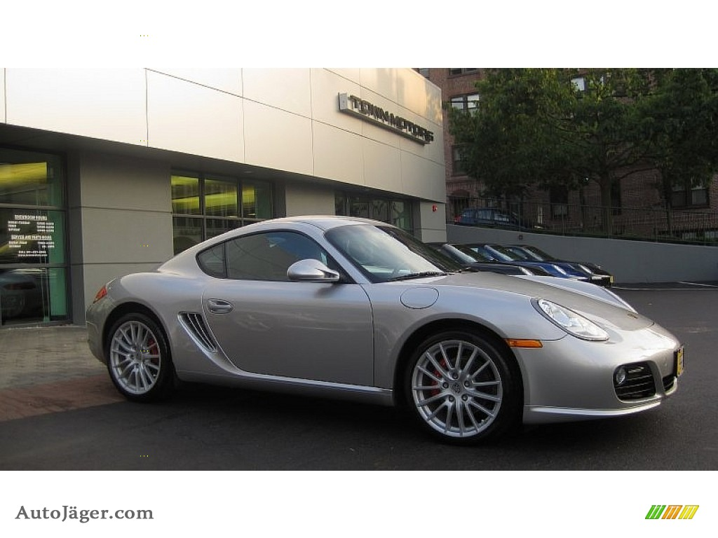 2010 porsche cayman s in arctic silver metallic 780538. Black Bedroom Furniture Sets. Home Design Ideas