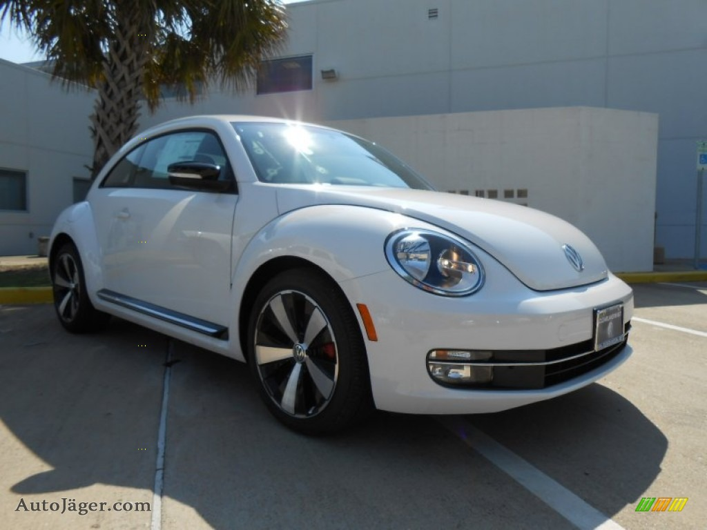 2012 volkswagen beetle turbo in candy white 636874 auto j ger german cars for sale in the us. Black Bedroom Furniture Sets. Home Design Ideas
