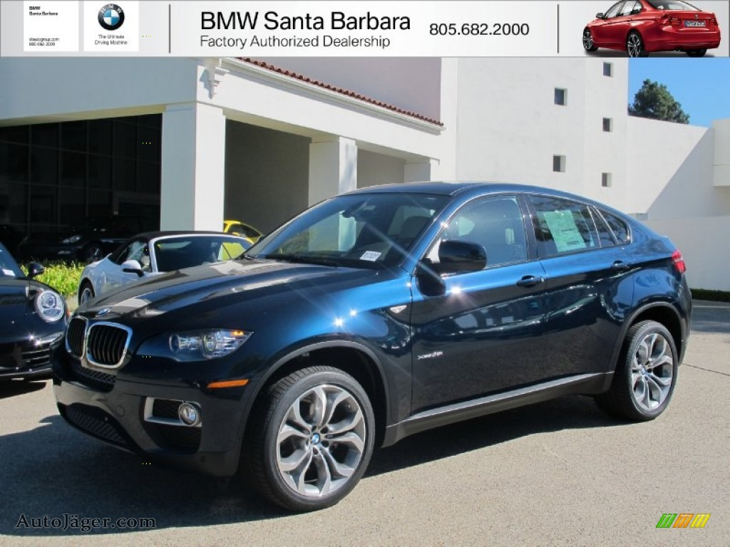 2013 Bmw X6 Xdrive35i In Midnight Blue Metallic Photo 8 784762 Auto J 228 Ger German Cars For