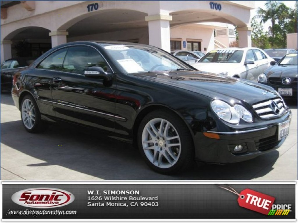 2009 mercedes benz clk 350 coupe in black photo 10 for Simonson mercedes benz