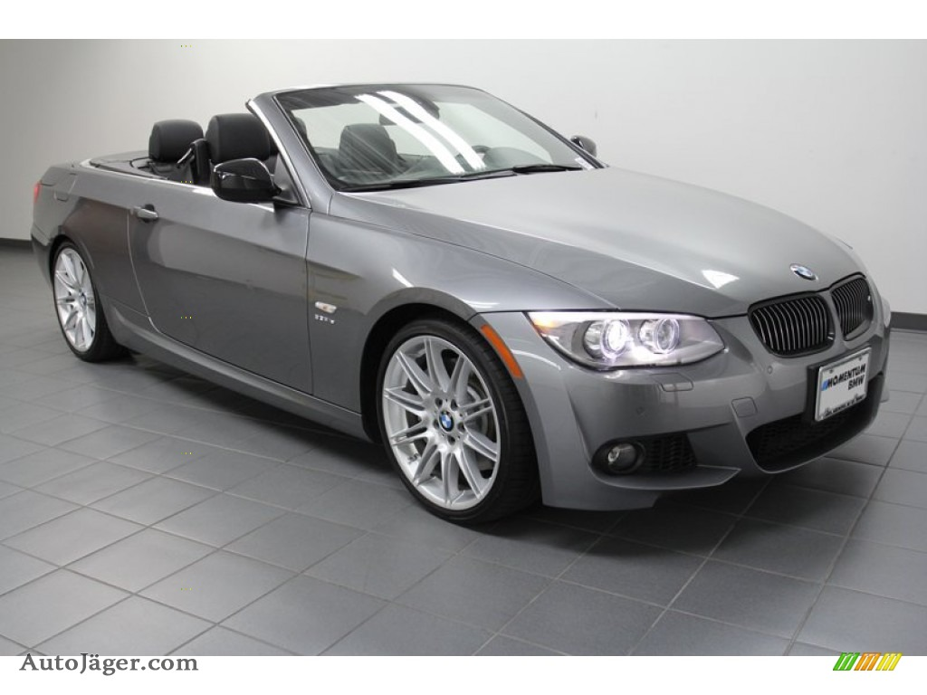 2011 Bmw 3 Series 335is Convertible In Space Gray Metallic