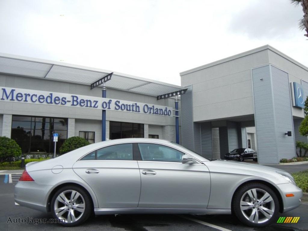 2009 mercedes benz cls 550 in iridium silver metallic for Mercedes benz of south orlando orlando fl 32839