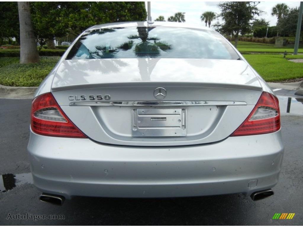 2009 mercedes benz cls 550 in iridium silver metallic for 2009 mercedes benz cls 550 amg