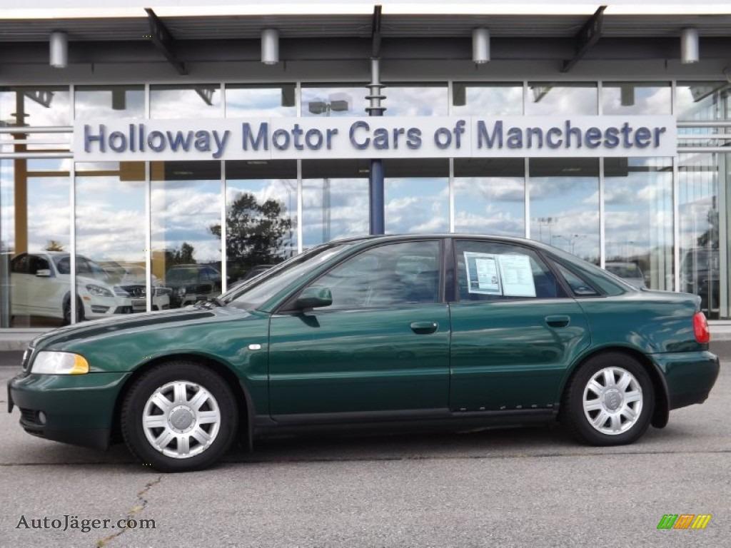 2001 Audi A4 1 8t Quattro Sedan In Cactus Green Pearl