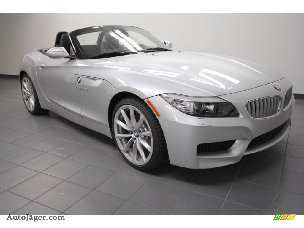 2013 Bmw Z4 Sdrive 35i In Titanium Silver Metallic
