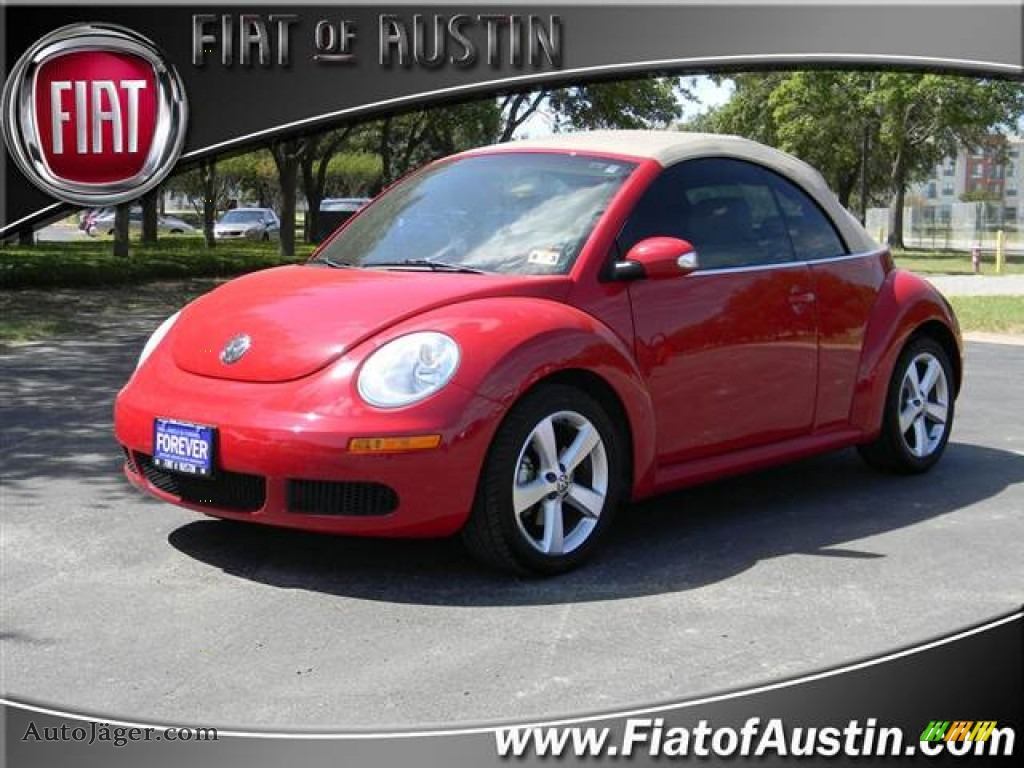 2006 Volkswagen New Beetle 2.5 Convertible in Salsa Red - 316347 ...
