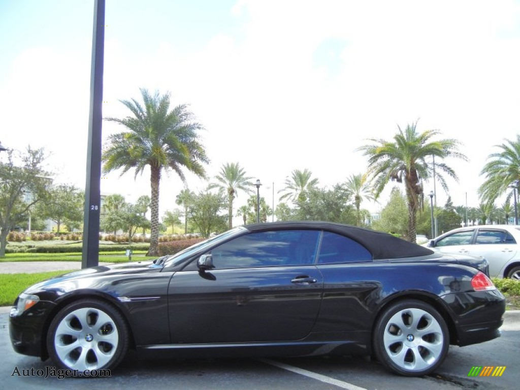2006 bmw 6 series 650i convertible in jet black photo 5. Black Bedroom Furniture Sets. Home Design Ideas