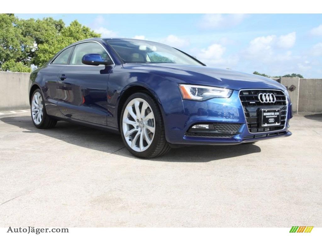 2013 Audi A5 2 0t Quattro Coupe In Scuba Blue Metallic
