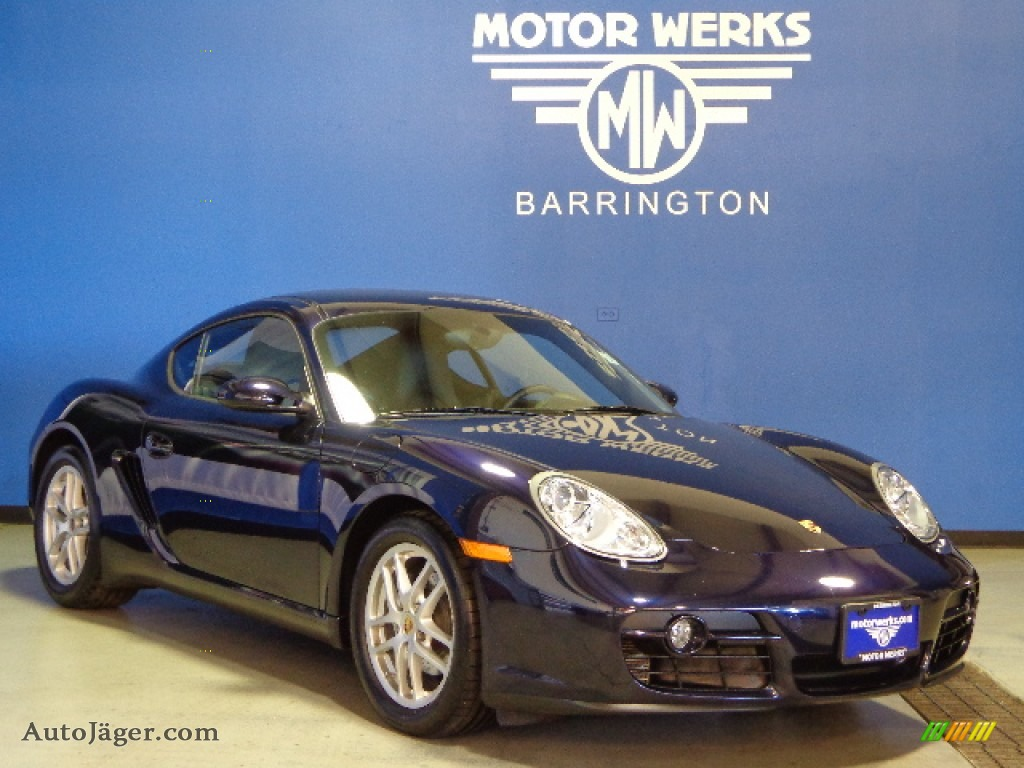 2007 porsche cayman in midnight blue metallic photo 8 for Motor werks barrington used cars