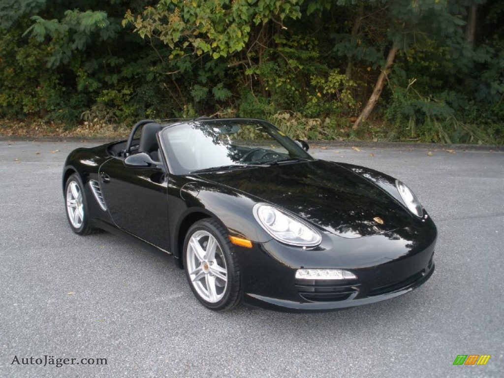 2009 porsche boxster in black 710612 auto j ger german cars for sale in the us. Black Bedroom Furniture Sets. Home Design Ideas