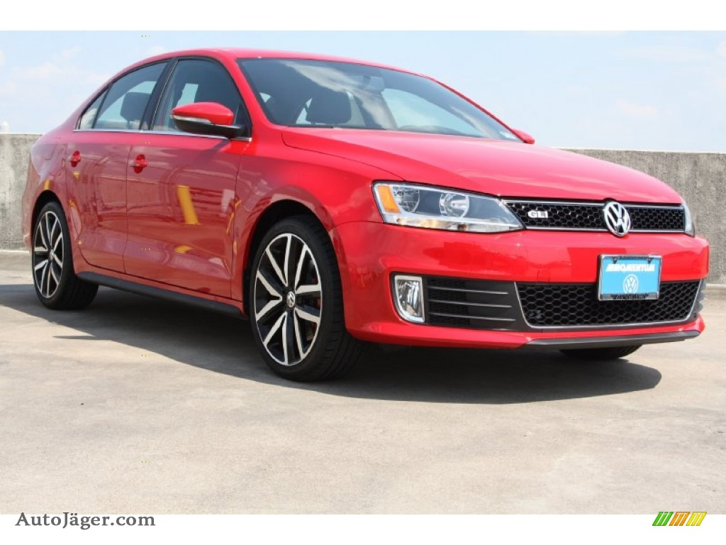 2013 volkswagen jetta gli autobahn in tornado red 377848. Black Bedroom Furniture Sets. Home Design Ideas
