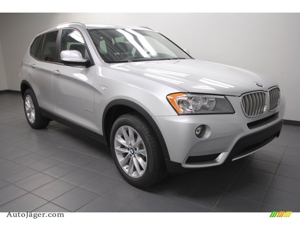 2013 Bmw X3 Xdrive 28i In Titanium Silver Metallic