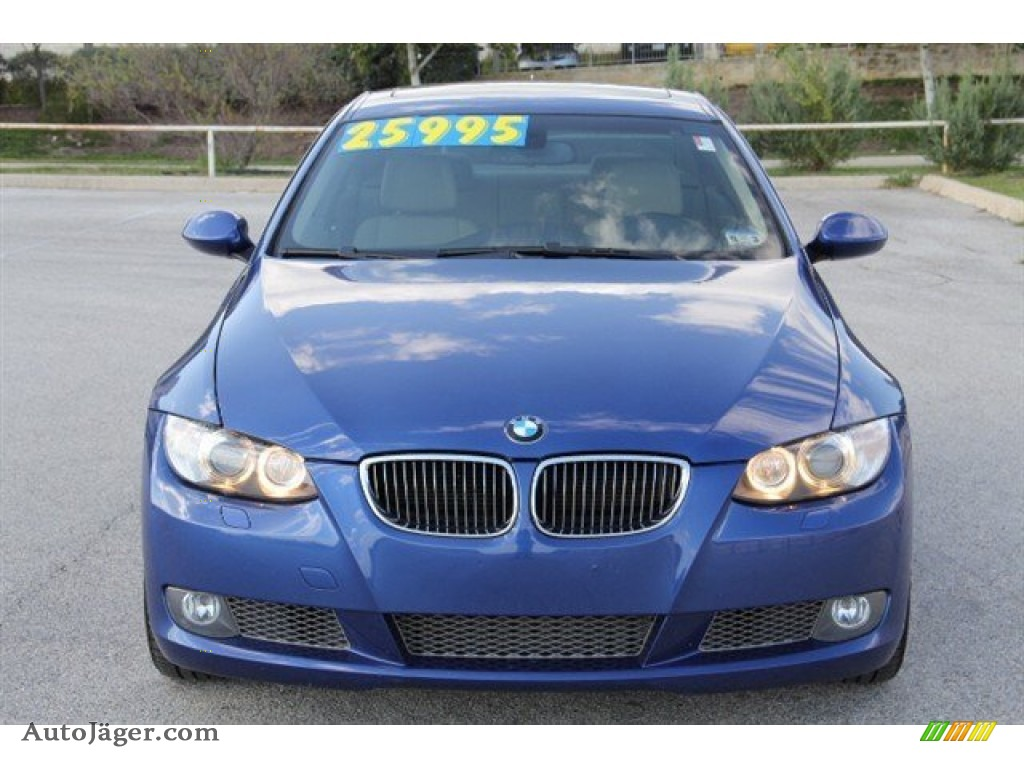 2008 bmw 3 series 335xi coupe in montego blue metallic 065895 auto j ger german cars for. Black Bedroom Furniture Sets. Home Design Ideas