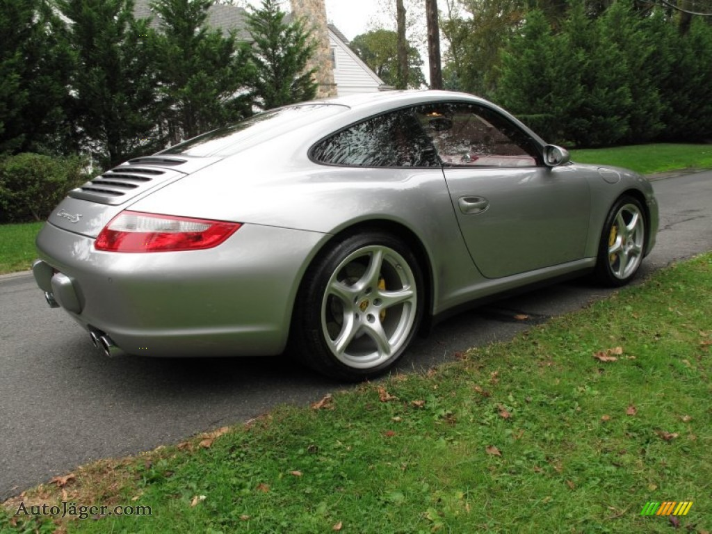 2006 porsche 911 carrera 4s coupe in gt silver metallic. Black Bedroom Furniture Sets. Home Design Ideas