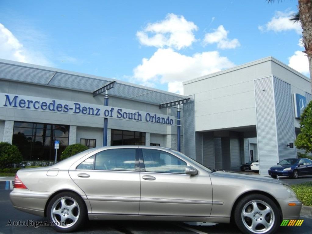 2004 mercedes benz s 430 sedan in desert silver metallic for Mercedes benz of south orlando orlando fl 32839