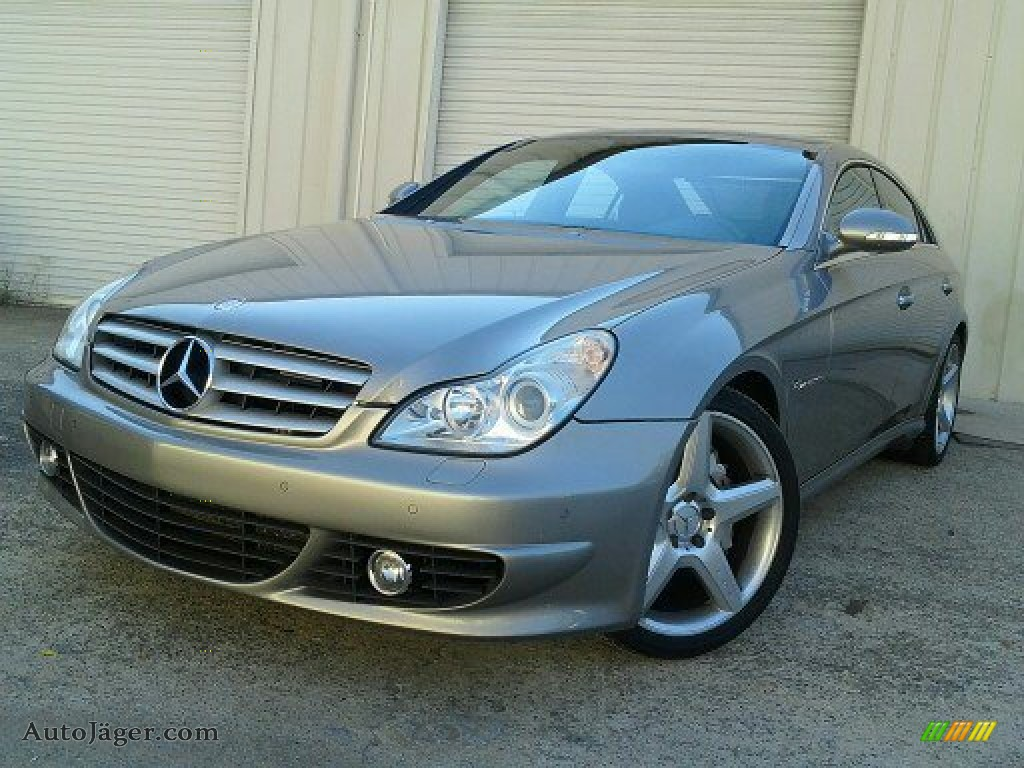 2006 mercedes benz cls 55 amg in pewter metallic photo 2 for 2006 mercedes benz cls55 amg
