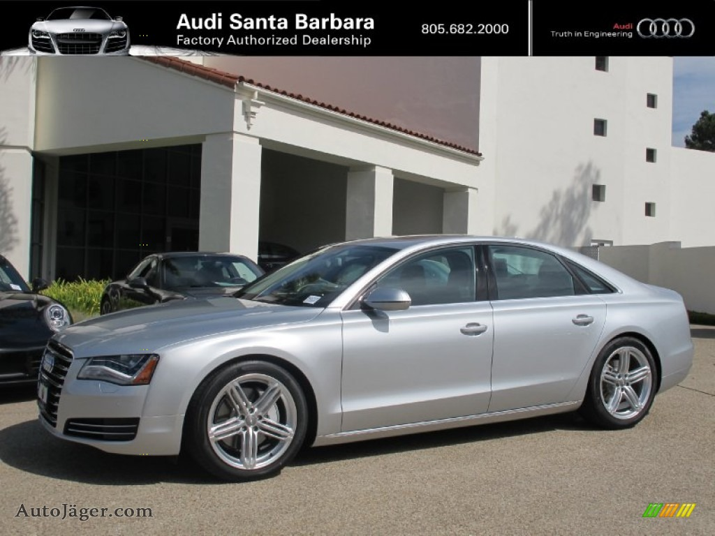 2013 audi a8 3 0t quattro in ice silver metallic photo 7 009768 auto j ger german cars