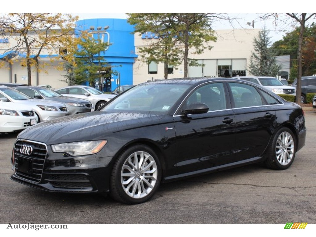 2012 Audi A6 3 0t Quattro Sedan In Phantom Black Pearl
