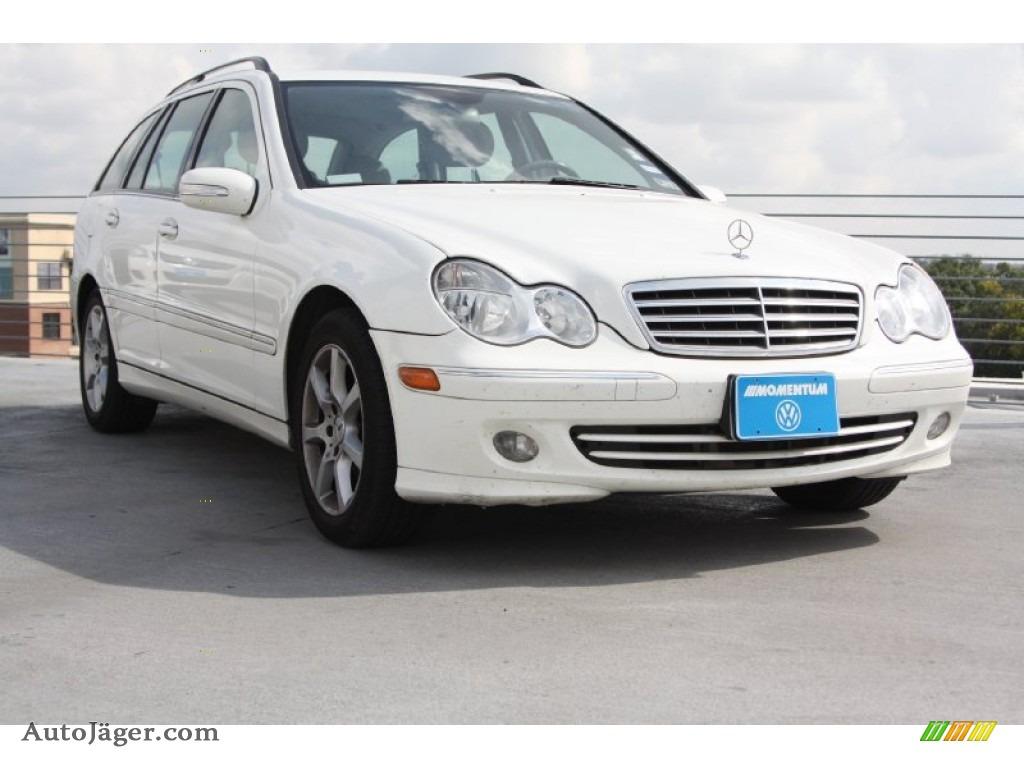 2005 mercedes benz c 240 wagon in alabaster white 674515 for Mercedes benz c 240
