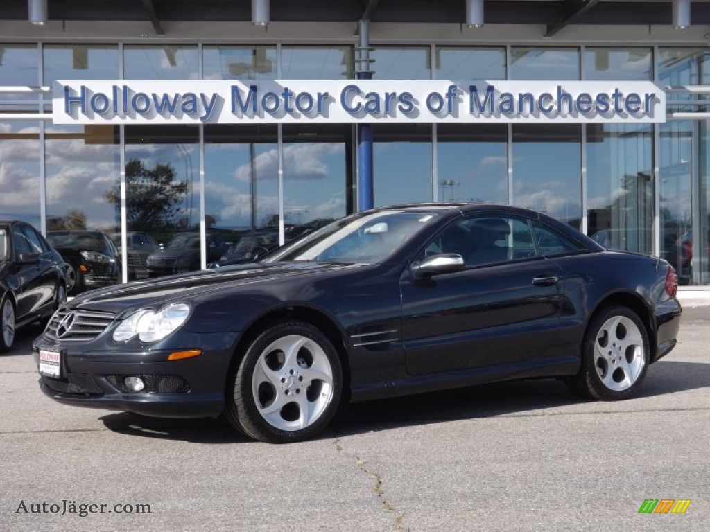 2005 mercedes benz sl 500 roadster in black 101327 for Holloway motor cars manchester