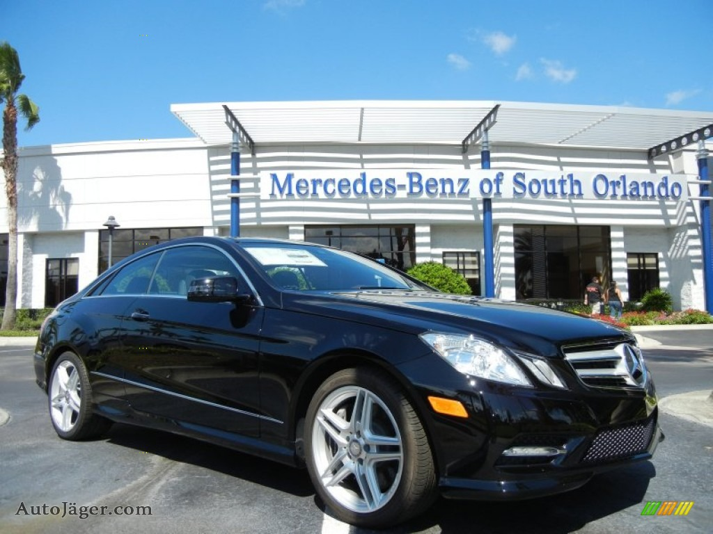 2013 mercedes benz e 550 coupe in black 182731 auto j ger german cars for sale in the us. Black Bedroom Furniture Sets. Home Design Ideas
