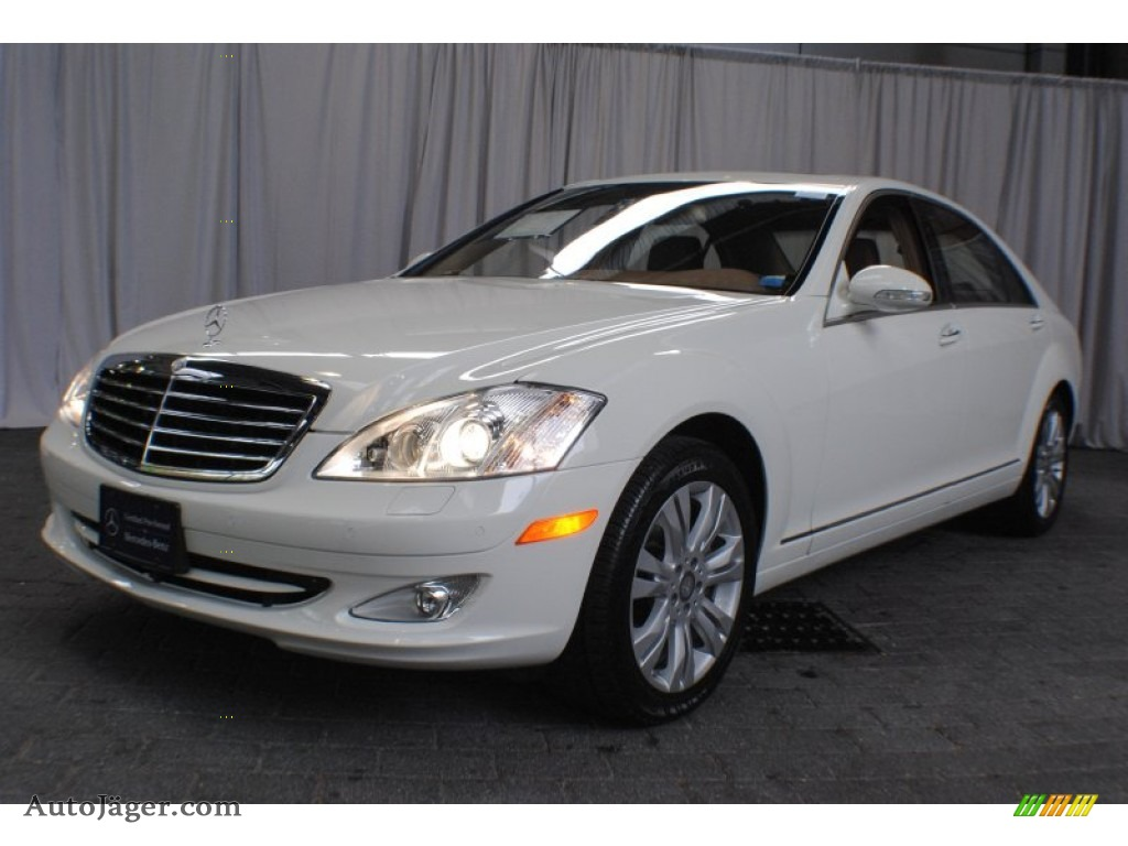 2009 mercedes benz s 550 4matic sedan in arctic white for Mercedes benz northern blvd
