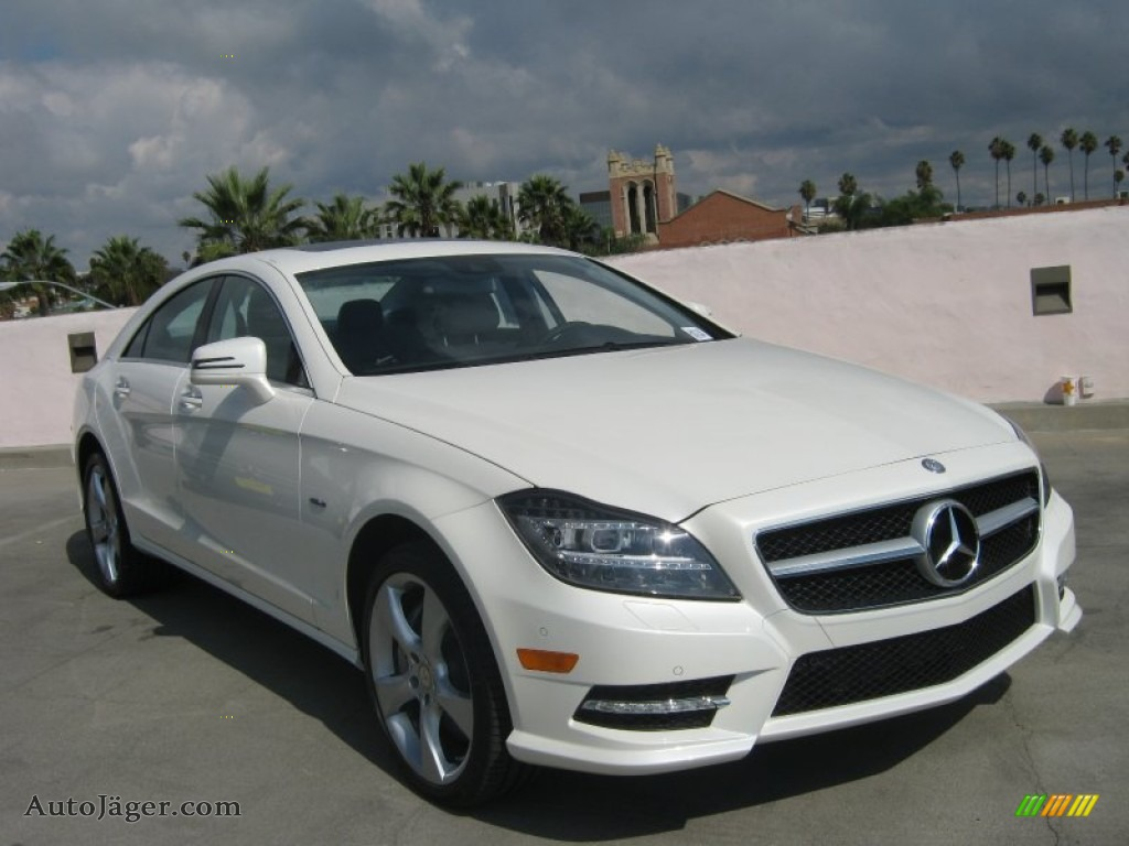 2012 mercedes benz cls 550 coupe in diamond white metallic 052233 auto j ger german cars. Black Bedroom Furniture Sets. Home Design Ideas