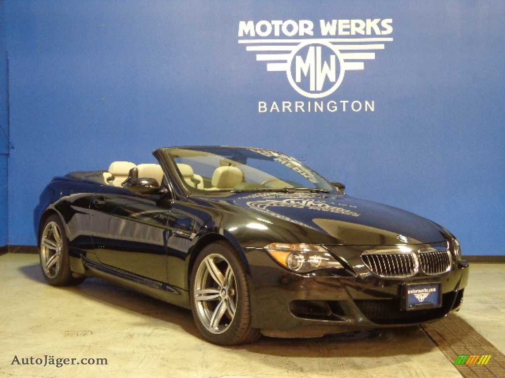 2007 bmw m6 convertible in black sapphire metallic photo for Motor werks barrington used cars