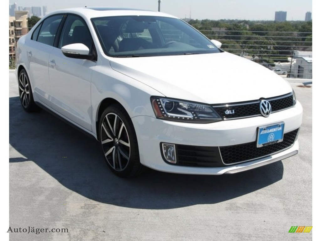 2013 volkswagen jetta gli autobahn in candy white 376968. Black Bedroom Furniture Sets. Home Design Ideas