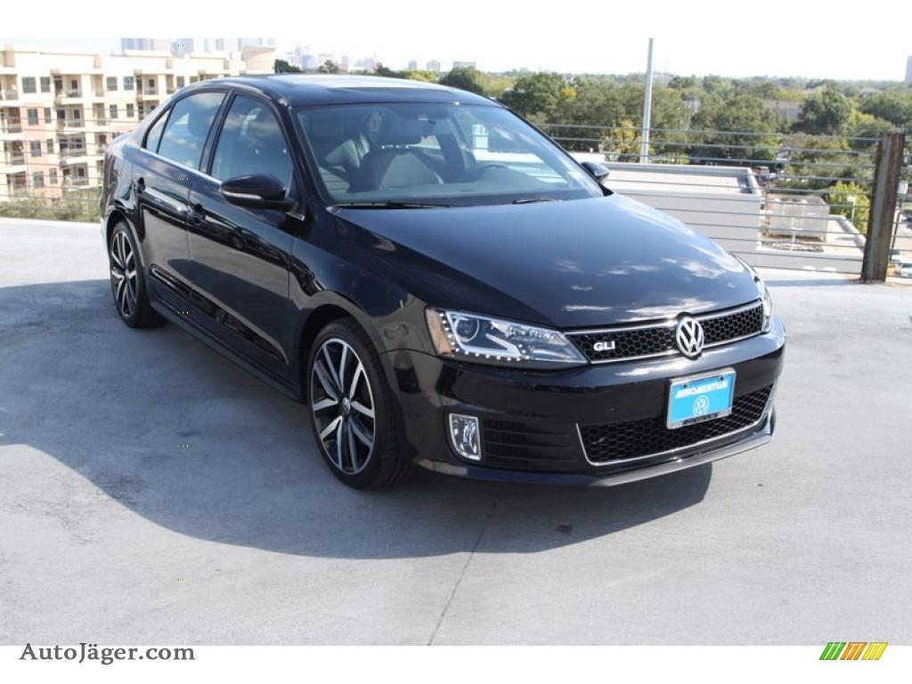 2013 Volkswagen Jetta Gli Black 200 Interior And