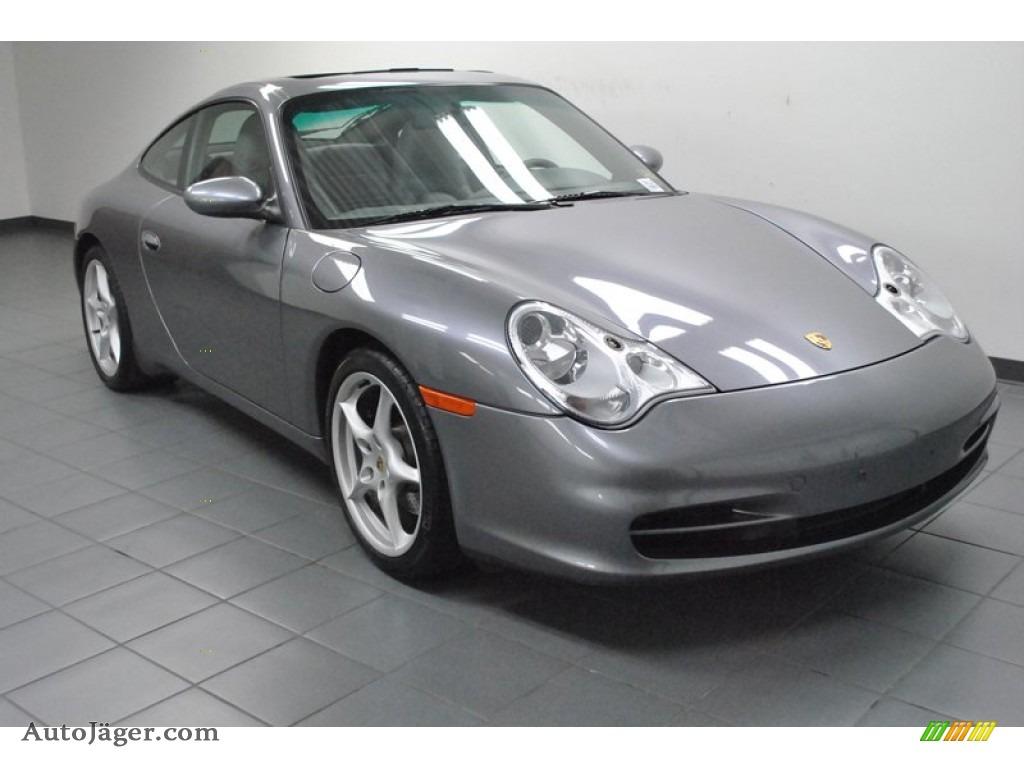 2003 Porsche 911 Carrera Coupe In Seal Grey Metallic
