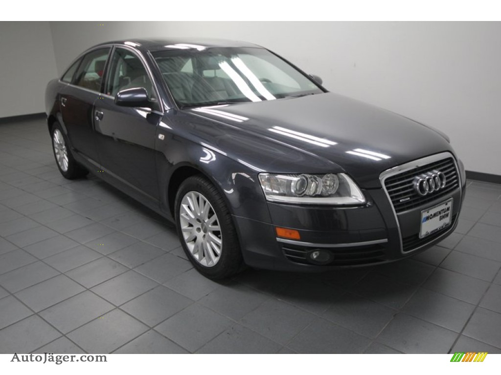 2006 Audi A6 3 2 Quattro Sedan In Oyster Grey Metallic