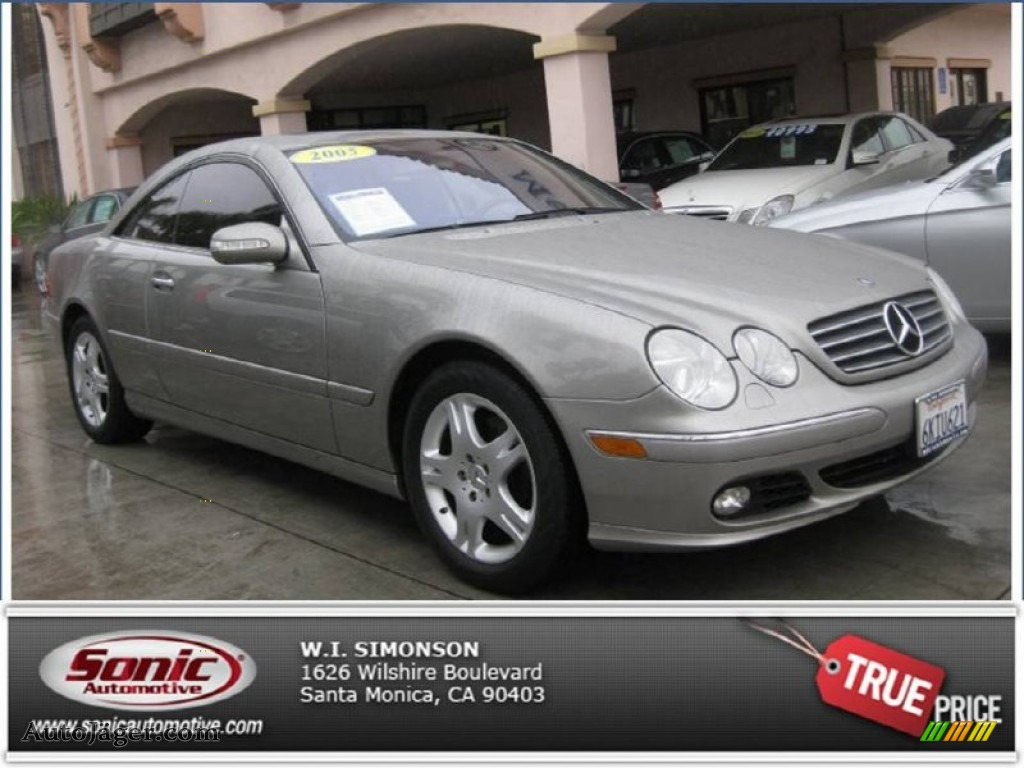 2005 mercedes benz cl 500 in pewter metallic 043725 for Simonson mercedes benz