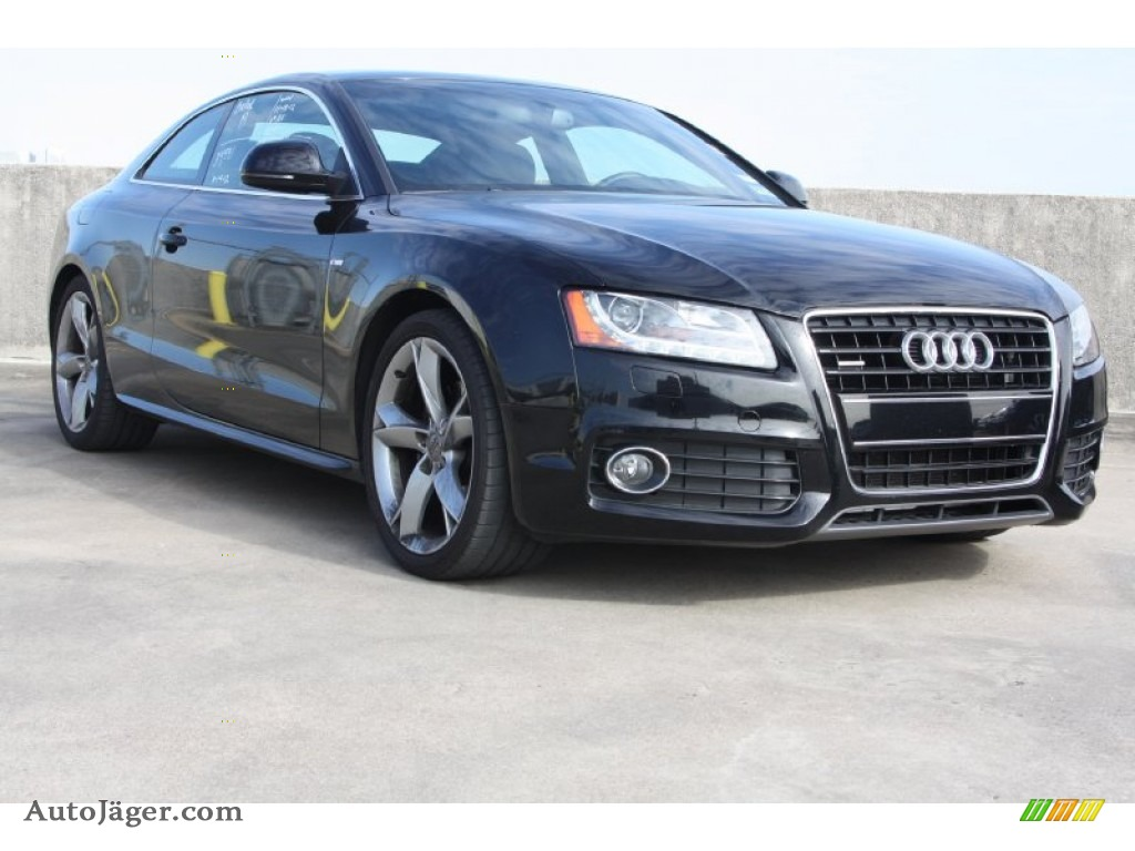 2009 audi a5 3 2 quattro coupe in brilliant black 015342 auto j ger german cars for sale. Black Bedroom Furniture Sets. Home Design Ideas
