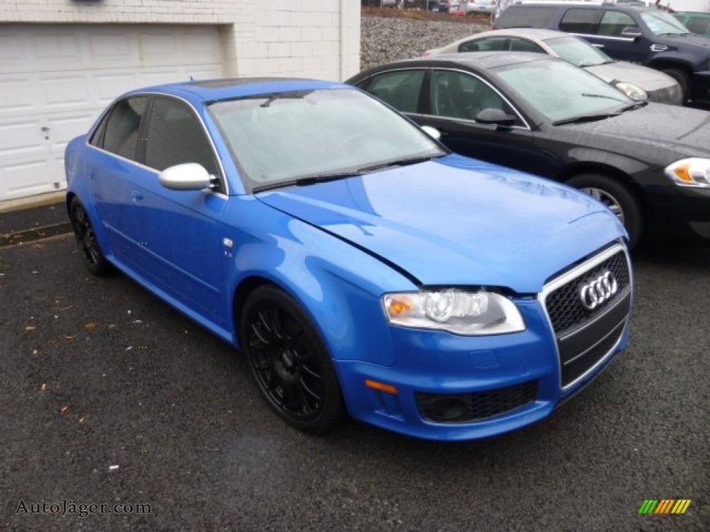 2007 Audi Rs4 4 2 Quattro Sedan In Sprint Blue Pearl