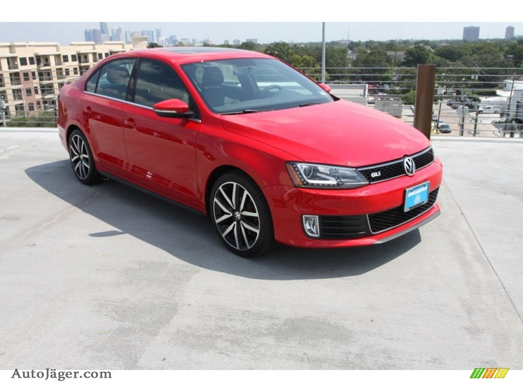 2013 volkswagen jetta gli autobahn in tornado red 409029. Black Bedroom Furniture Sets. Home Design Ideas