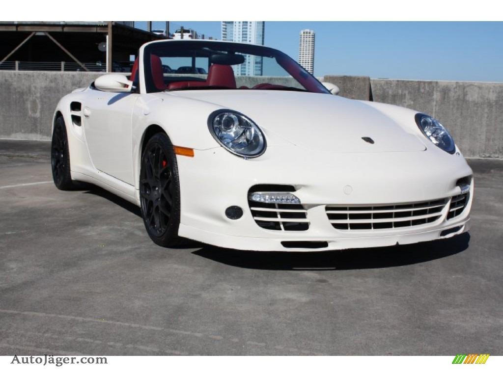 2009 Porsche 911 Turbo Cabriolet In Cream White 773299