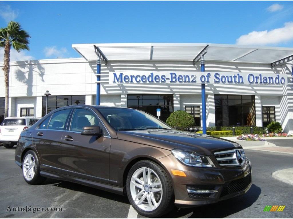 2013 mercedes benz c 250 sport in dolomite brown metallic for Mercedes benz millenia