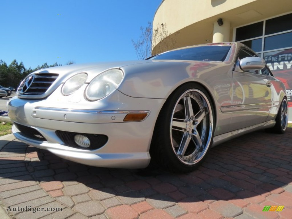 2001 mercedes benz cl 500 in brilliant silver metallic for 2001 mercedes benz cl500 for sale