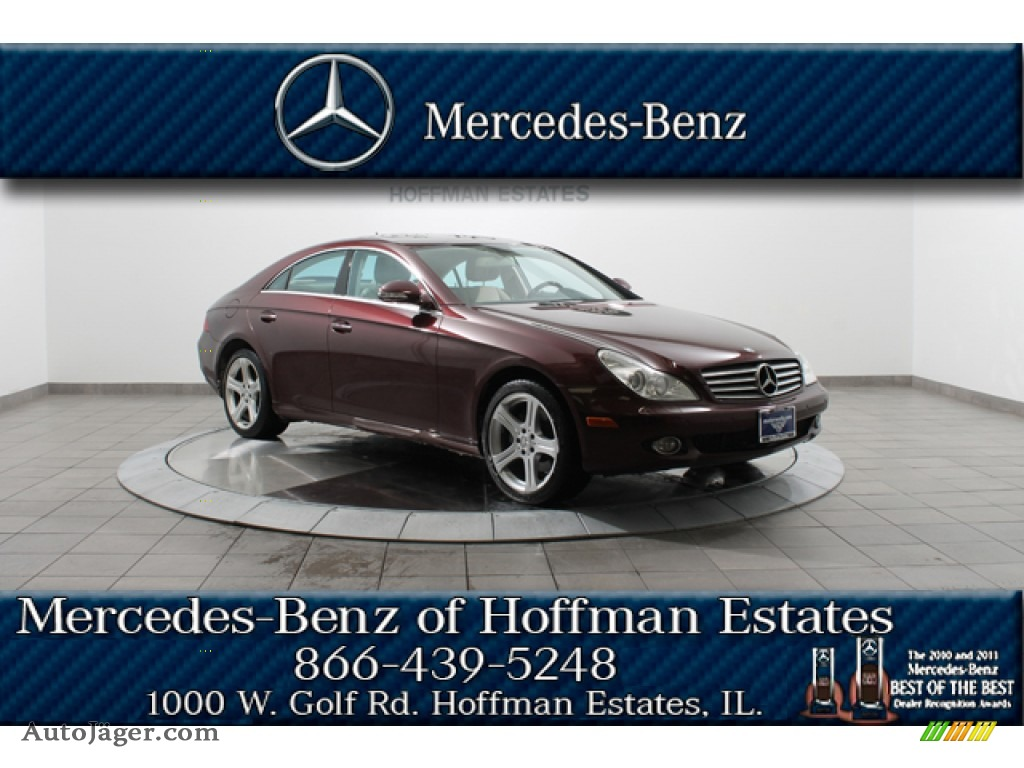 2007 mercedes benz cls 550 in barolo red metallic photo for Simonson mercedes benz