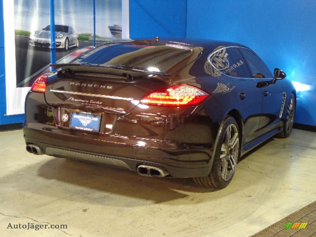 2010 Porsche Panamera Turbo In Mahogany Metallic Photo 7