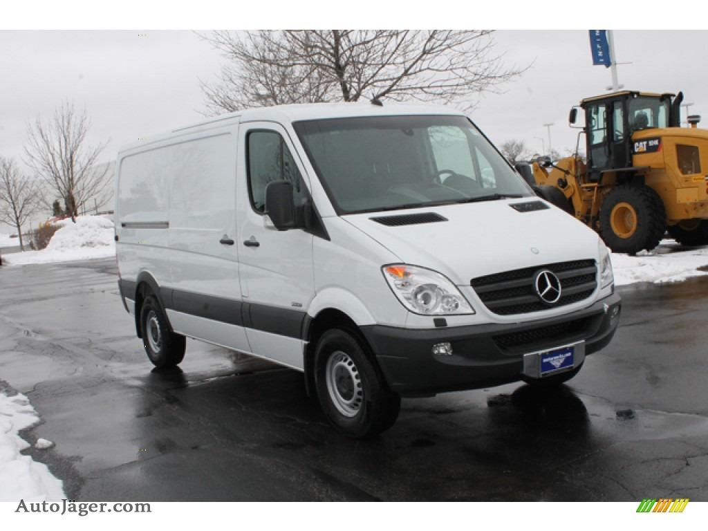 2012 mercedes benz sprinter 2500 cargo van in arctic white for Mercedes benz sprinter cargo van for sale