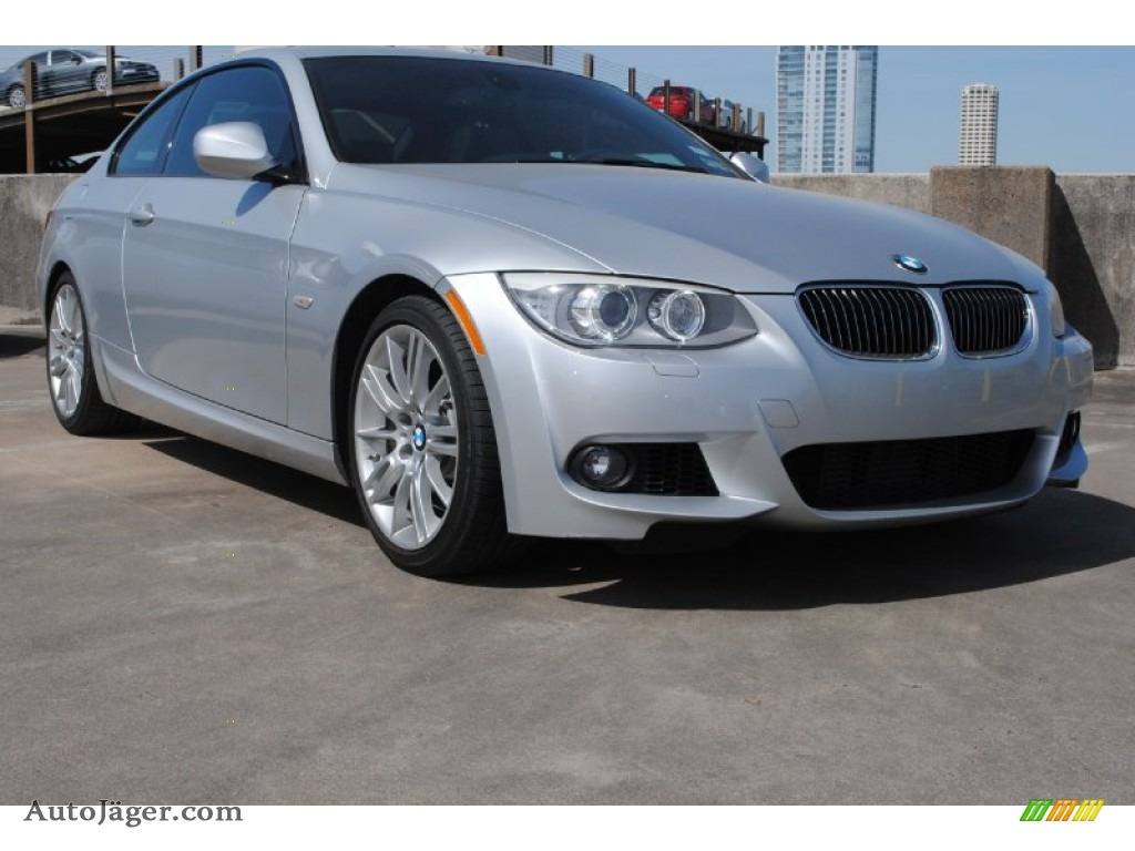 2011 bmw 3 series 335i coupe in titanium silver metallic 263674 auto j ger german cars for. Black Bedroom Furniture Sets. Home Design Ideas