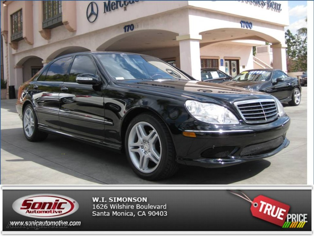 2006 mercedes benz s 500 sedan in black photo 7 482547 for Simonson mercedes benz