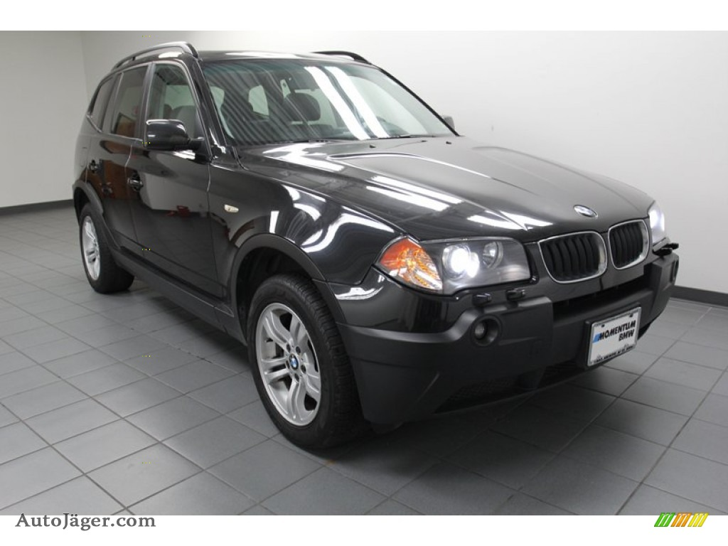 2005 bmw x3 in black sapphire metallic d17302 auto j ger german cars for sale in the us. Black Bedroom Furniture Sets. Home Design Ideas
