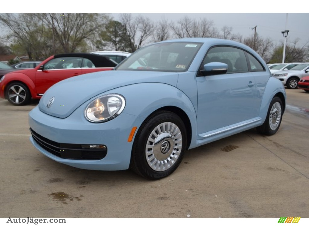 volkswagen beetle   denim blue  auto jaeger german cars  sale